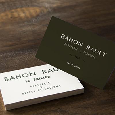 Bahon Rault carte de visite